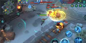 Paladins Strike – Tựa MOBA lấy cảm hứng từ game bắn súng cùng tên đã cho tải về điện thoại