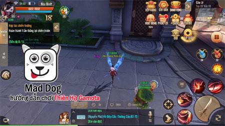Hướng dẫn anh em game thủ up cấp siêu nhanh trong Thiên Hạ Gamota