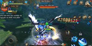 Tính năng PK non-target chính là điểm mạnh nhất củaTruyền Thuyết Rồng 3D