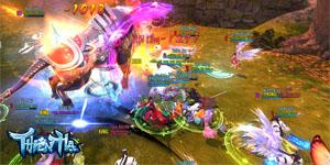Trong Thiên Hạ 3D game thủ lúc nào cũng cần phối hợp nhau để săn được đồ xịn