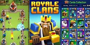 Royale Clans – Game chiến thuật thả quân dung hợp chất chơi của Clash Royale và Minecraft