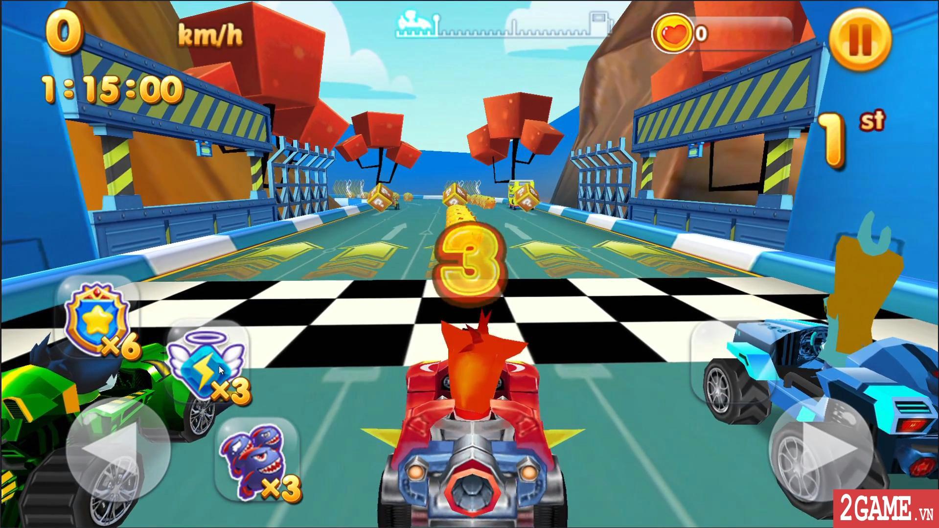 Bandicoot Kart Racing