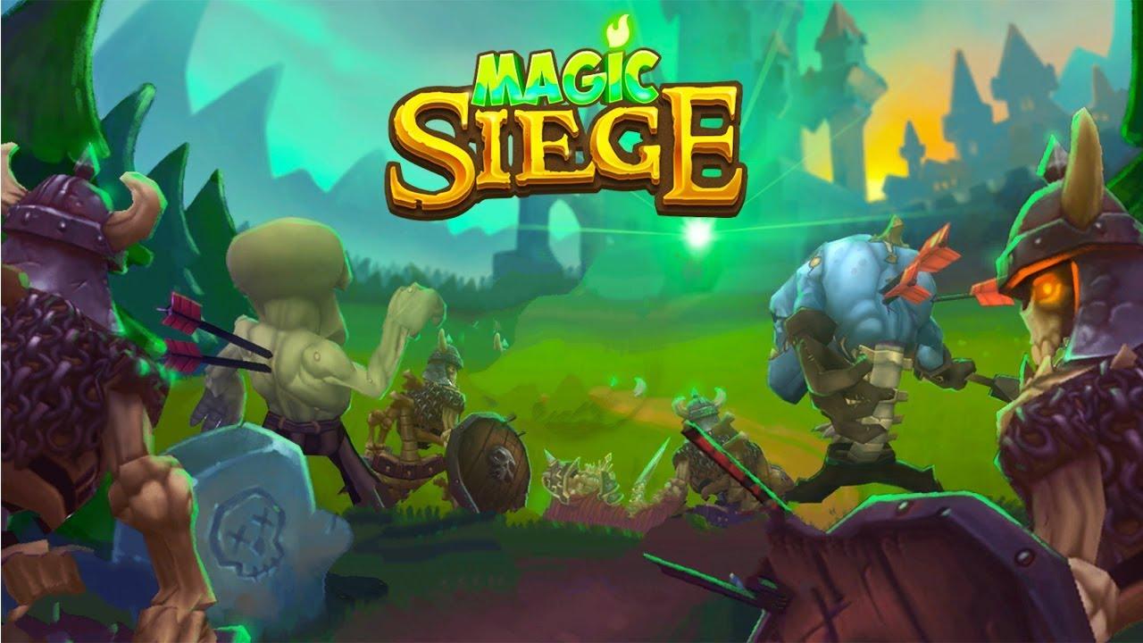 Magic Siege Defender