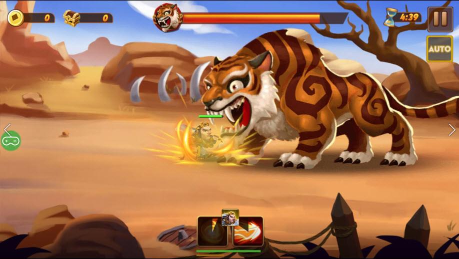 Anh hùng Võ Tòng đả hổ được khắc họa oai phong trong game Hảo Hán Ca Mobile 0