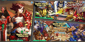 SohaGame ra mắt game mới Tam Quốc Quần Anh Truyện