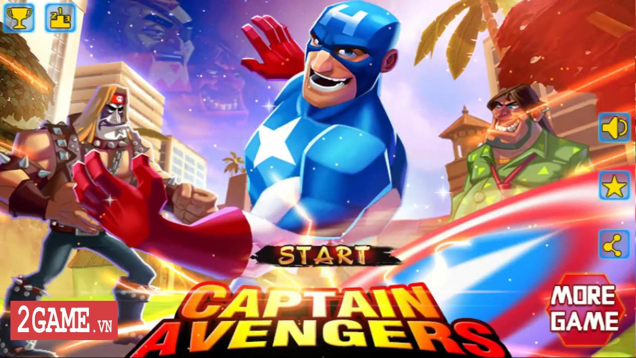 Battle of Superheroes: Captain Avenger