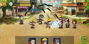 Trải nghiệm Ninja Lead Mobile – Game đấu thẻ tướng về các nhân vật trong truyện tranh Naruto đầy quen thuộc