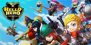 Hello Hero: Epic Battle – Game nhập vai tổ đội chiến với hơn 100 nhân vật đồ sộ
