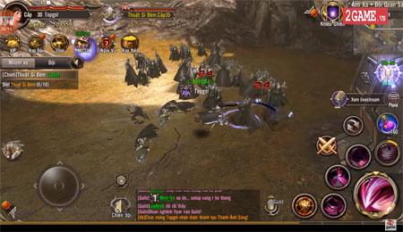 Trải nghiệm Trò Chơi Vương Quyền Mobile – Cảm giác gameplay cứ như Lineage II trên PC ấy