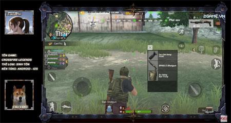 """Cậu Vàng lăn lộn chơi Crossfire Legends Sinh Tồn: Game """"nhảy dù bắn súng"""" quá thú vị"""