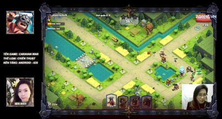 Mai Anh thích thú khám phá game chiến thuật sáng tạo Caravan War do Việt Nam sản xuất