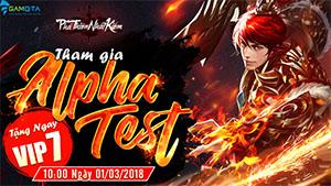 Game thủ Việt đã có thể chơi thử game võ hiệp Phá Thiên Nhất Kiếm vào ngày mai