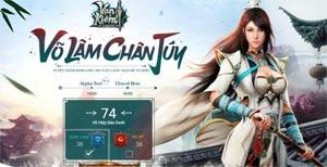 Webgame Vạn Kiếm ấn định ngày thử nghiệm tại Việt Nam
