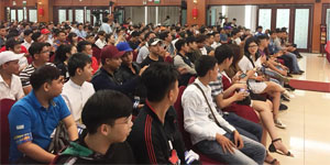 """Gamota """"chi mạnh tay"""" trong buổi Big Offline game Anh Hùng Xạ Điêu 3D tại Sài thành"""