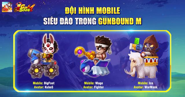 Các cách kết hợp nên một đội hình siêu lý tưởng trong Gunbound M VNG 3