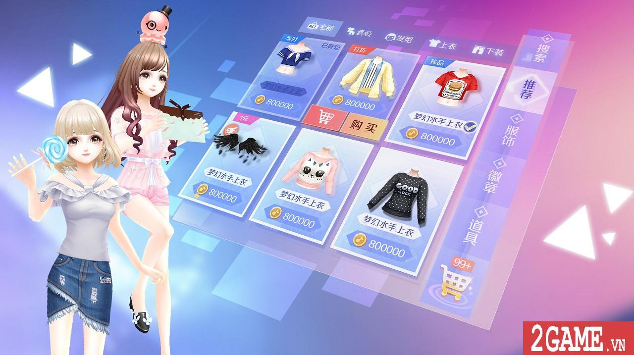 Zing Dance Mobile kế thừa và phát triển nhiều tính năng lôi cuốn từ bản PC 0