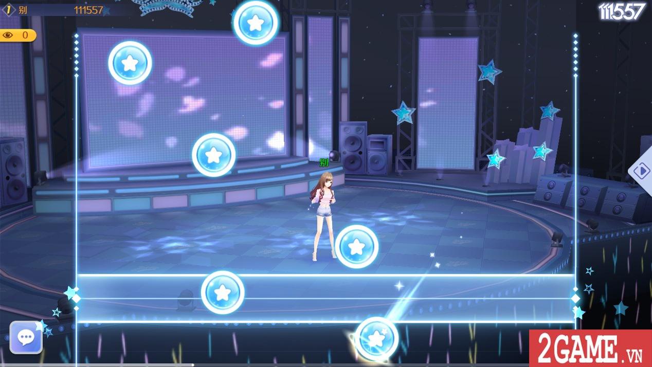 Zing Dance Mobile kế thừa và phát triển nhiều tính năng lôi cuốn từ bản PC 6