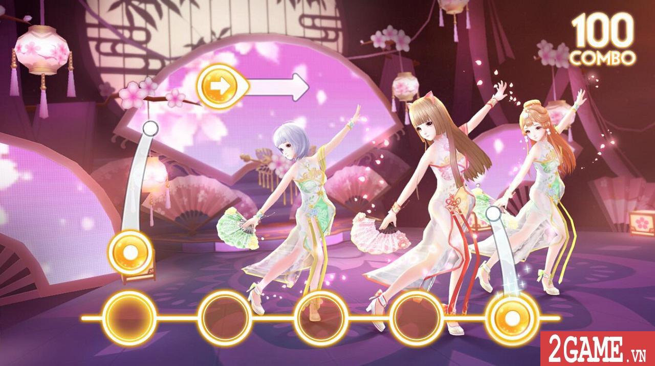 Zing Dance Mobile kế thừa và phát triển nhiều tính năng lôi cuốn từ bản PC 7