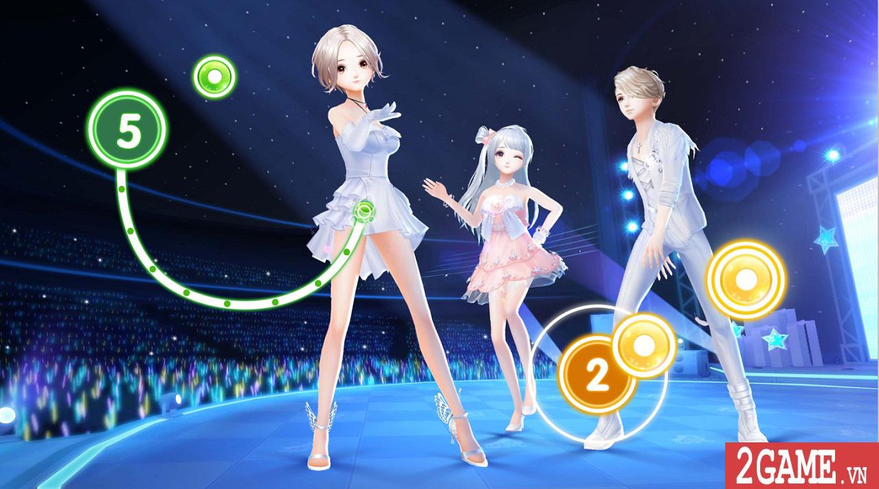 Zing Dance Mobile kế thừa và phát triển nhiều tính năng lôi cuốn từ bản PC 1