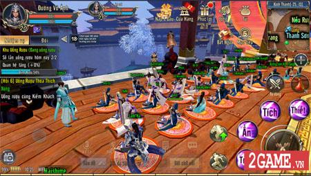 360mobi Kiếm Khách VNG đưa bạn vào một thế giới kiếm hiệp mở vô cùng rộng lớn