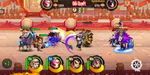 Cảm nhận game mobile 3QVL: Lối chơi đẩy tướng độc đáo và nhiều tình huống hài hước, kịch tính