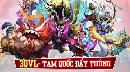 Trải nghiệm game mobile 3QVL – Vua Tam Quốc GO với chất vui điên loạn