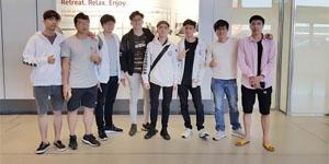 Đội EVOS LMHT Việt Nam đã lên đường sẵn sàng cho giải MSI 2018 tại Đức