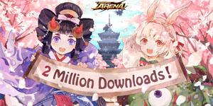 Âm Dương Sư MOBA – Onmyoji Arena chạm mốc 2 triệu lượt tải