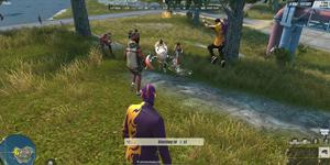 Game thủ Rules of Survival có thể lựa chọn sắm vai Robot Droid trợ thủ