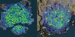 Hóa ra trong map Miramar PUBG, vòng bo được chỉ định ở một số địa điểm nhất định