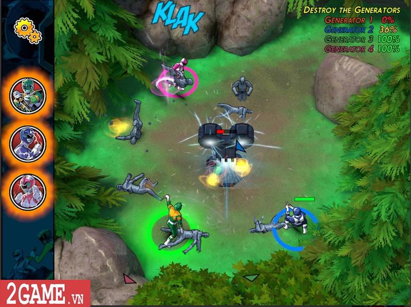 Power Rangers Morphin Missions: Game mobile hành động lấy cảm hứng từ truyện tranh 3
