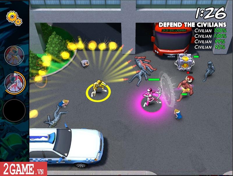 Power Rangers Morphin Missions: Game mobile hành động lấy cảm hứng từ truyện tranh 4