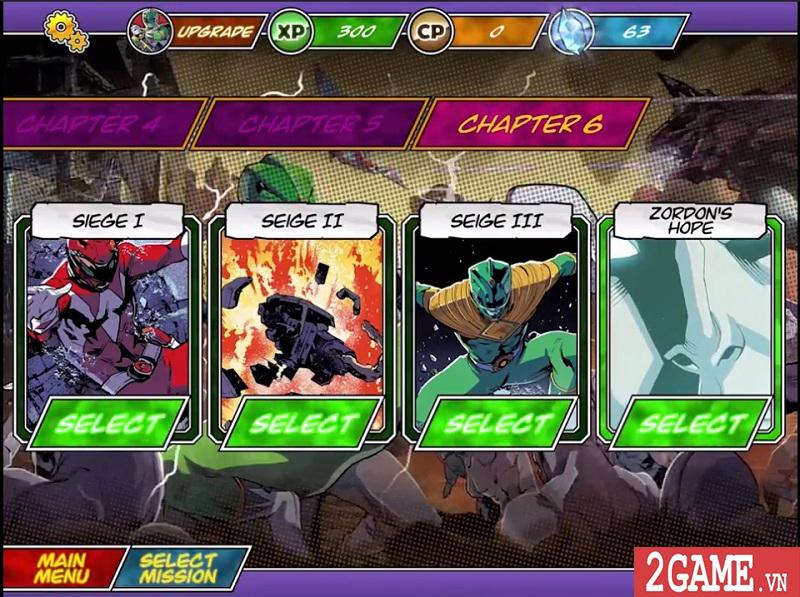 Power Rangers Morphin Missions: Game mobile hành động lấy cảm hứng từ truyện tranh 7