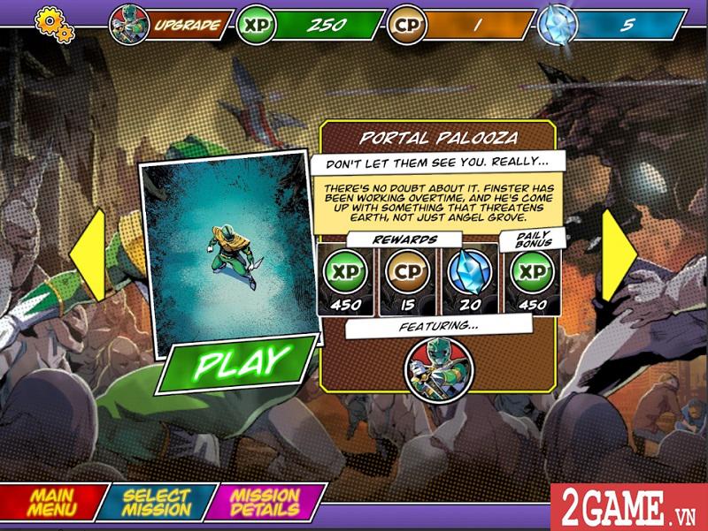 Power Rangers Morphin Missions: Game mobile hành động lấy cảm hứng từ truyện tranh 1