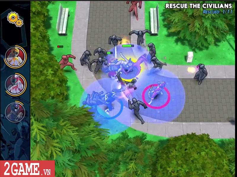 Power Rangers Morphin Missions: Game mobile hành động lấy cảm hứng từ truyện tranh 6