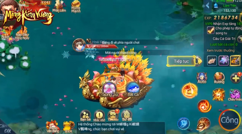 Mộng Kiếm Vương Mobile lùi ngày ra mắt, do SohaGame phát hành 2