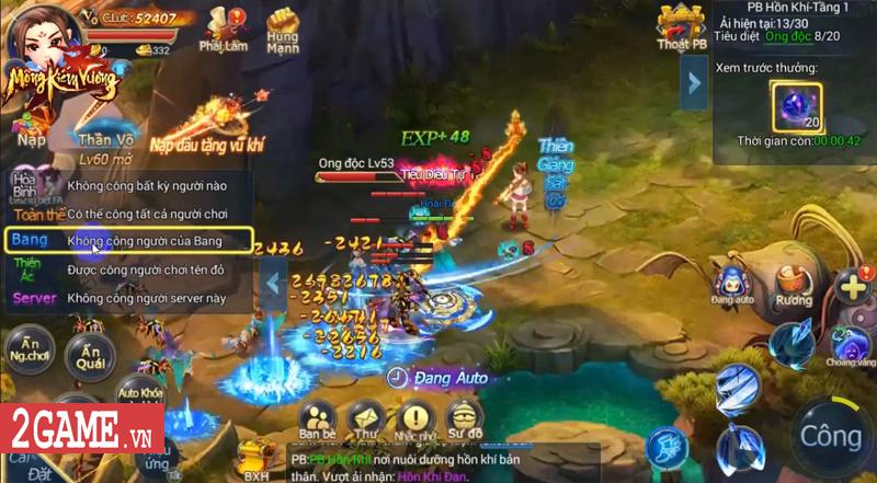 Mộng Kiếm Vương Mobile lùi ngày ra mắt, do SohaGame phát hành 0
