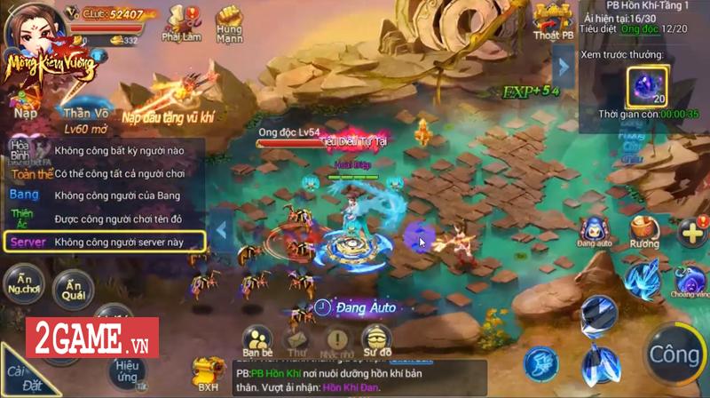 Mộng Kiếm Vương Mobile lùi ngày ra mắt, do SohaGame phát hành 1