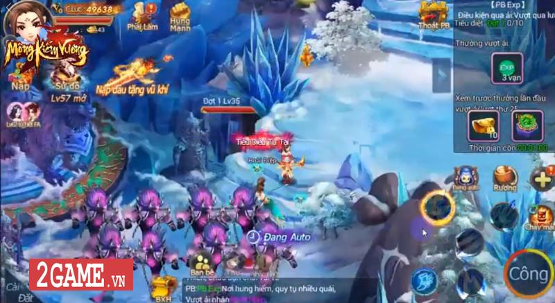 Mộng Kiếm Vương Mobile lùi ngày ra mắt, do SohaGame phát hành 3