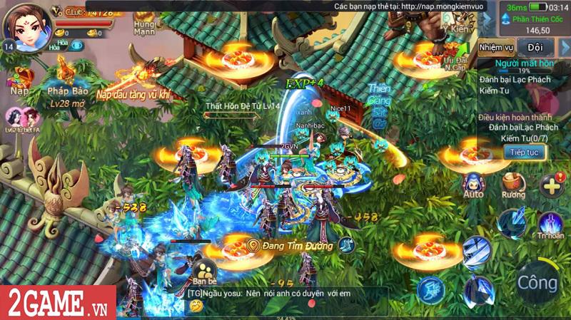 Trải nghiệm Mộng Kiếm Vương Mobile: Gameplay đa dạng, đồ họa thiếu tính đột phá 3