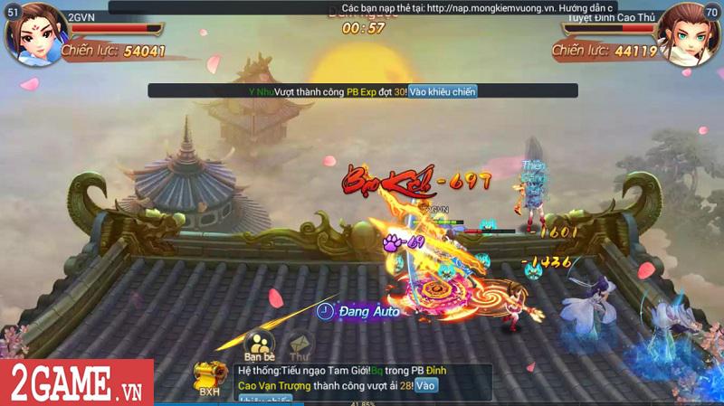 Trải nghiệm Mộng Kiếm Vương Mobile: Gameplay đa dạng, đồ họa thiếu tính đột phá 5