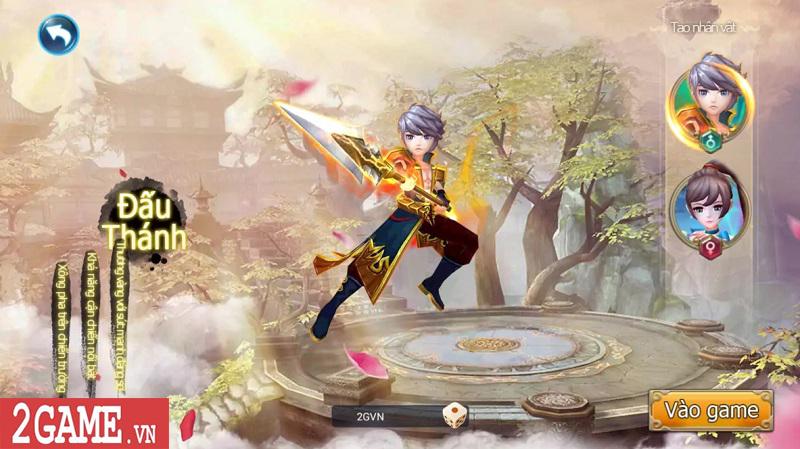Trải nghiệm Mộng Kiếm Vương Mobile: Gameplay đa dạng, đồ họa thiếu tính đột phá 0