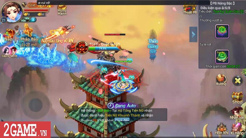 Trải nghiệm Mộng Kiếm Vương Mobile: Gameplay đa dạng, đồ họa thiếu tính đột phá 15