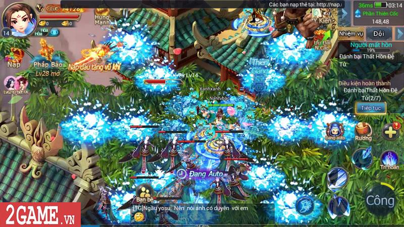 Trải nghiệm Mộng Kiếm Vương Mobile: Gameplay đa dạng, đồ họa thiếu tính đột phá 2