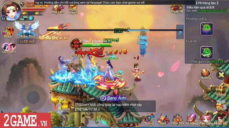 Trải nghiệm Mộng Kiếm Vương Mobile: Gameplay đa dạng, đồ họa thiếu tính đột phá 13