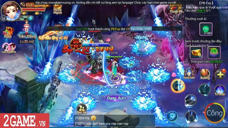 Trải nghiệm Mộng Kiếm Vương Mobile: Gameplay đa dạng, đồ họa thiếu tính đột phá 14