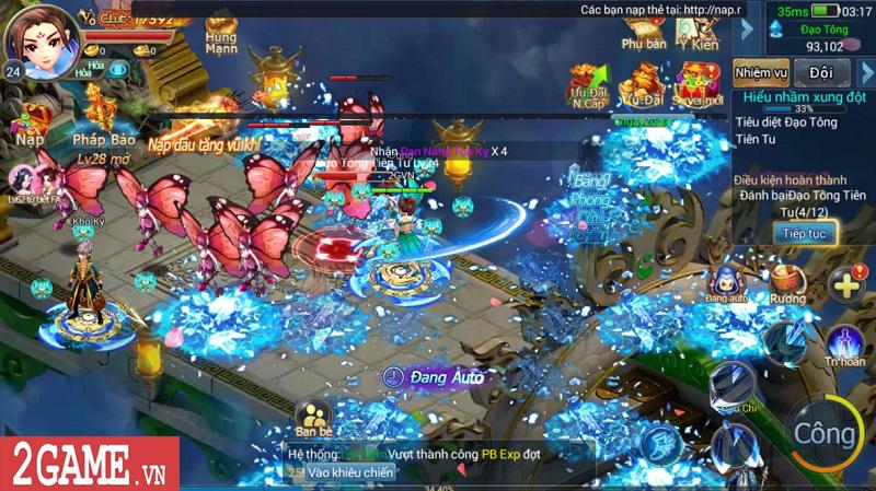 Trải nghiệm Mộng Kiếm Vương Mobile: Gameplay đa dạng, đồ họa thiếu tính đột phá 11