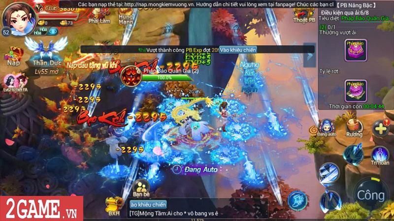 Trải nghiệm Mộng Kiếm Vương Mobile: Gameplay đa dạng, đồ họa thiếu tính đột phá 12