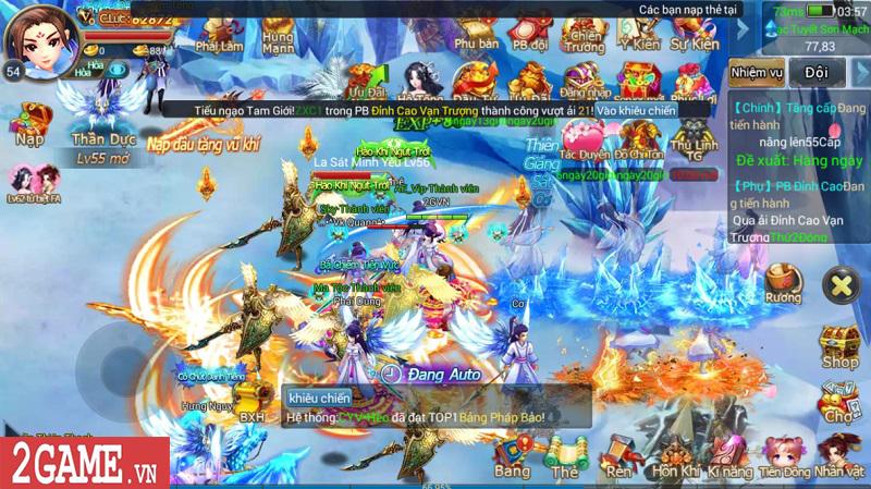 Trải nghiệm Mộng Kiếm Vương Mobile: Gameplay đa dạng, đồ họa thiếu tính đột phá 8