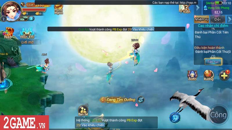Trải nghiệm Mộng Kiếm Vương Mobile: Gameplay đa dạng, đồ họa thiếu tính đột phá 1